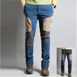 мъжки туристически двойни панталони бежови точкови