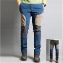 pánské turistické dvoulůžkové béžové kalhoty bodové