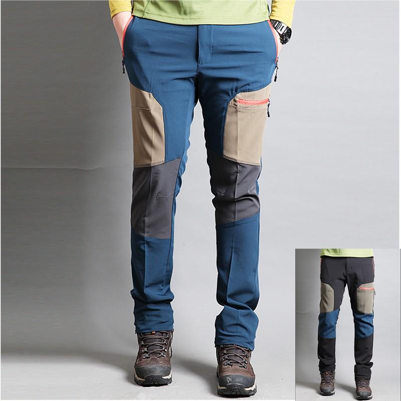 005b7c742280 pánske turistické dvojlôžkové béžové nohavice bodové ...