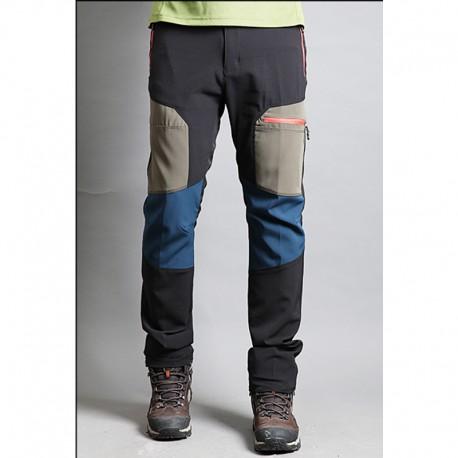 Männer Wanderdoppel beige Punkt Hosen