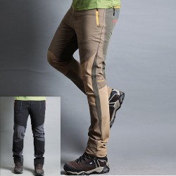 мъжки туристически панталони крайречно езеро твърди панталони