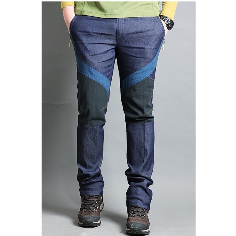 чоловічі штани джинсові похідні тверді силіконові штани ... 3540c13147669