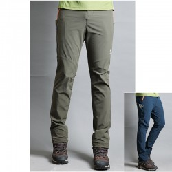 men's hiking pants ETM orange zipper trousers