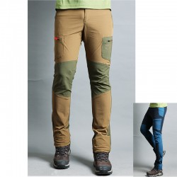 men's hiking pants double pocket trousers