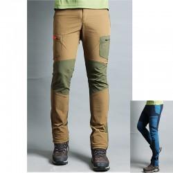 męskie spodnie na piesze wędrówki podwoić kieszeni spodni