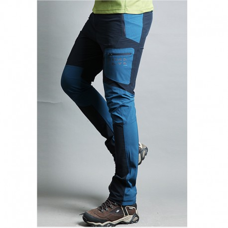 pánske turistické nohavice zdvojnásobiť vrecka nohavíc