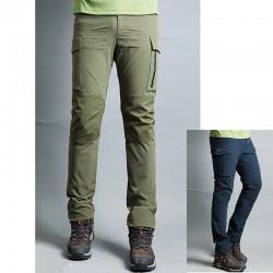 Spodnie męskie wędrówki Himalya kieszeni spodni portfel