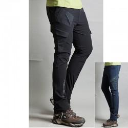 vīriešu pārgājienu bikses ciets disbalansa kabatas bikses