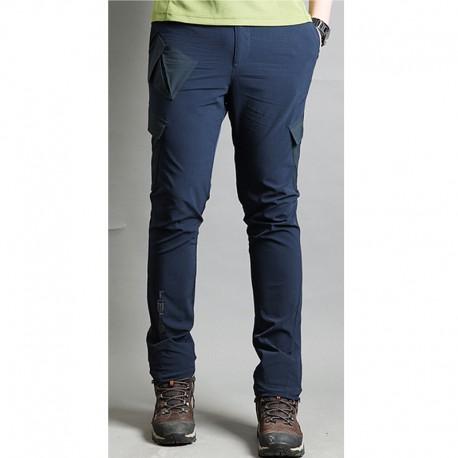 bărbați pantaloni pentru drumeții de dezechilibru solid pantaloni de buzunar