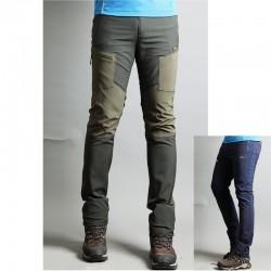 męskie spodnie na piesze wędrówki pojedynczych kieszeni spodni