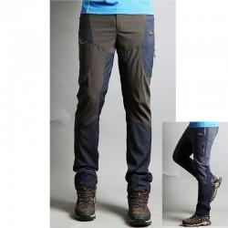 muške planinarske hlače vjetar akcija hlače