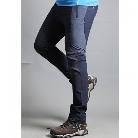 męskie spodnie na piesze wędrówki Cotten solidne spodnie mix