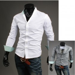 glass strö punkt skjorta