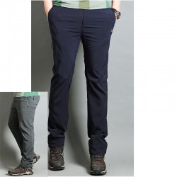 men's hiking pants roller stitch trousers