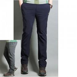 pánské turistické kalhoty kolečkové stehu kalhoty