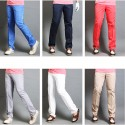 pánske golfové nohavice Základné moderné tech násobkom farieb