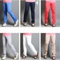vyriški golfo kelnės pagrindinė šiuolaikinės technologijų kelių spalvų