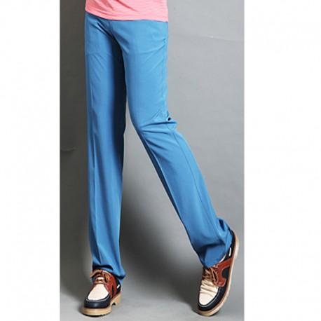 erkek golf pantolon düz uyum