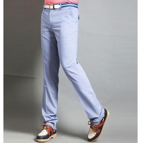 pantaloni di golf degli uomini controllano pied de poule