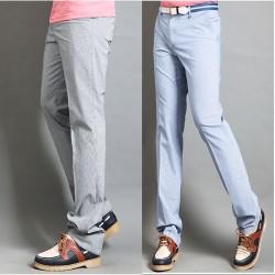 férfi golf nadrág mikro csíkkal