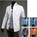 men's blazer china neck line linen