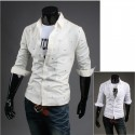 men's mid sleeve shirts universe