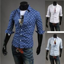 erkekler orta kollu gömlek kalp