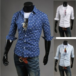 men's mid sleeve shirts heart
