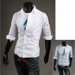 metà Camicie maniche di colore ragazzo maschile