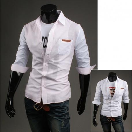 vyriški vidurio rankovėmis marškinėliai išbalansuoti rankovės