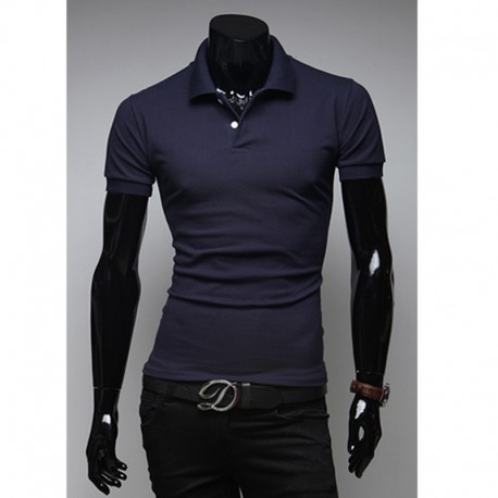 men's polo shirts basic multiful color