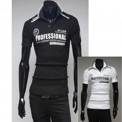 tricouri polo bărbați echipa de curse profesionist