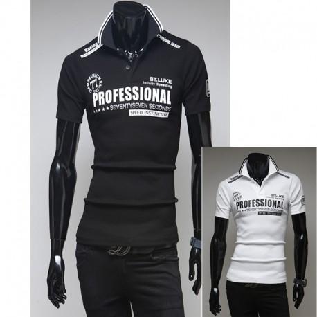 pánske košele s krátkym rukávom profesionálny pretekársky tím
