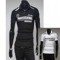 męskie koszulki polo profesjonalny zespół wyścigowy