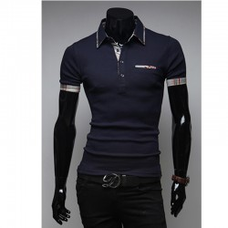 muška polo majica duga linija