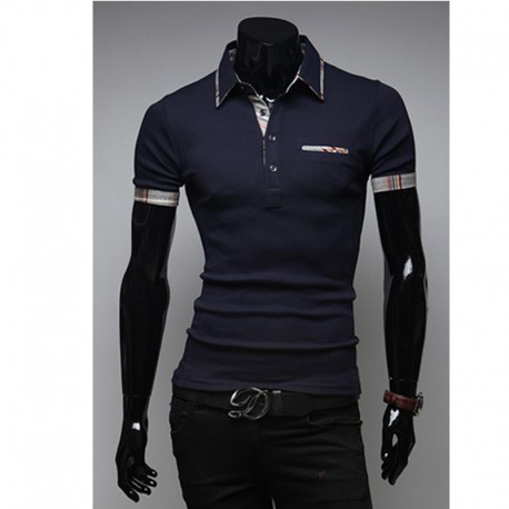 men's polo shirts rainbow line