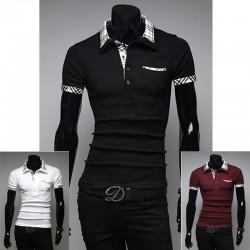 męskie koszulki polo check nova