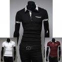 men's polo shirts nova check