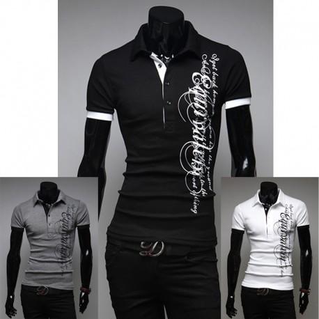 vyriški polo marškinėliai įranga