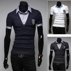 män polo shirts R wappen