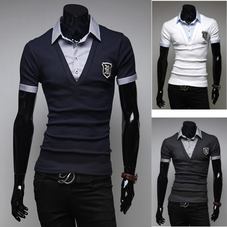 men's polo shirts R wappen