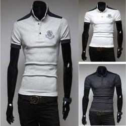 heren polo shirts rococo borduurwerk