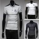 men's polo shirts rococo embroidery