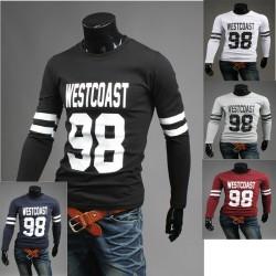 ovest costa 98 magliette rotonde