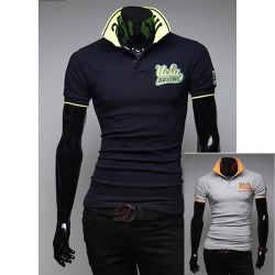 polo collare camicie UCLA maschile
