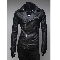 mężczyzna skórzanej kurtki Harley jeźdźca