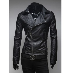 vīriešu ādas jaka Harley braucējs