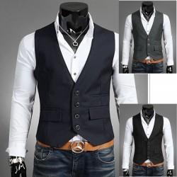 veste 2 couches collier hommes