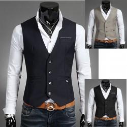 Meeste vest taskurätik triip