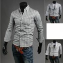 uld stribe kontrol skjorter